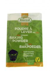 Bakepulver øko. 3 x 10 g. Bioreal