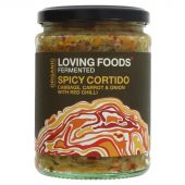 Loving Foods Spicy Cortido 500g