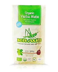 Kraus Yerba Mate Pure Leaf 500g (ikke røkt) Øko Fairtrade