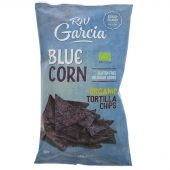 Garcia Blue Corn Tortilla Chips - organic - 150g