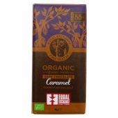 Equal Exchange 55% Dark Caramel & Sea Salt -100g