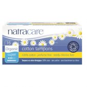 Natracare tamponger m/hylse super 16