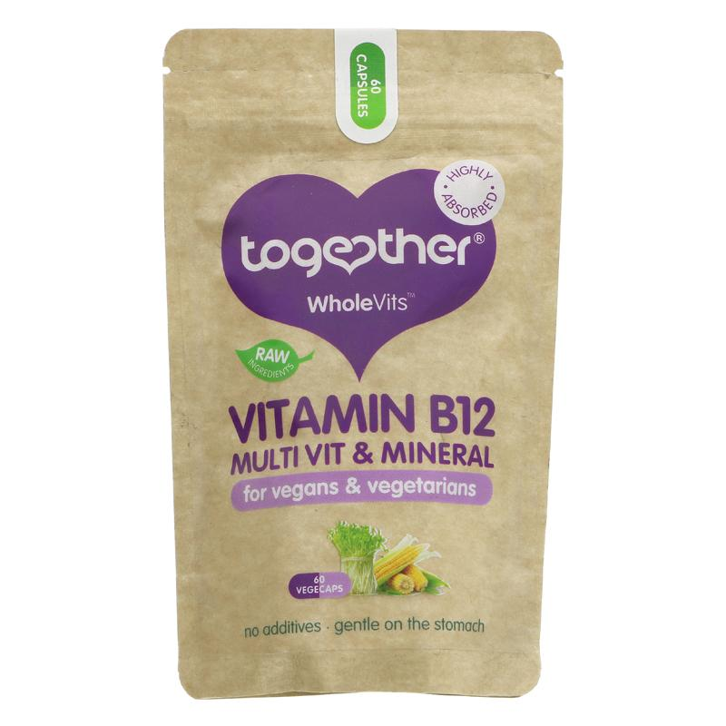 Together Health B12 60 vegecaps vegan