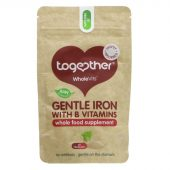 Together Health Gentle Iron 30 vegecaps vegan raw