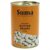 Suma Limabønner (butter beans), øko, 400g