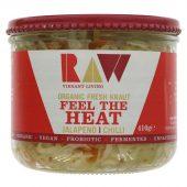 Raw Health Organic Fresh Kraut, Feel The Heat -  410g