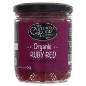 Cultured Food raw ruby red sauerkraut, øko, 400g