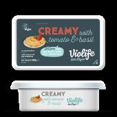 Violife creamy med tomat & basilikum 200g
