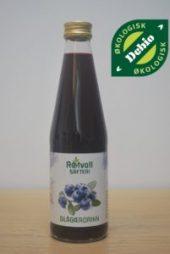 Rotvoll Blåbærsaft Usukret 330ml