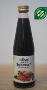 Rotvoll Solbærsaft Usukret 330ml