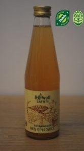 Rotvoll Eplejuice (Usukret) 0,7l