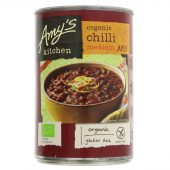Amys Chiligryte Medium 416g Øko