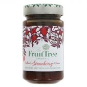 Fruit Tree Syltetøy 100% frukt Jordbær 250g. øko