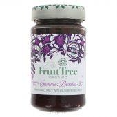 Fruit Tree Syltetøy 100% frukt Summer Berries 250g. øko