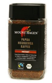 Mount Hagen Pulverkaffe instant. 100 gr