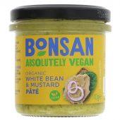 Bonsan Paté White Bean & Mustard 140g