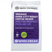 Equal Exchange Dark City organic Coffee Beans - 227g