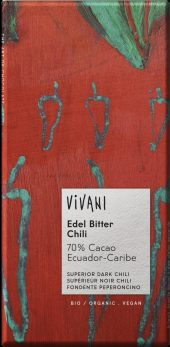 Vivani m/chili 70% 100g