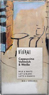 Vivani milk & white cappuccino 100g
