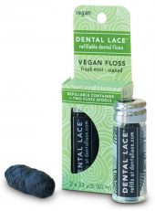 Dental Lace Vegan bambus tanntråd i glass