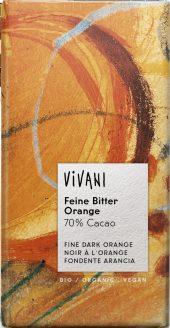 Vivani Fine Dark Orange 70% 100g