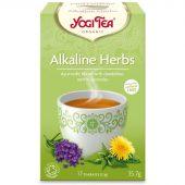 Te Alkaline herbs, økologisk, 17 poser, Yogi Tea