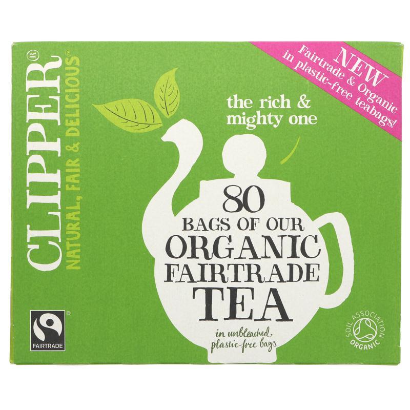 Clipper Everday Organic - 80 bags