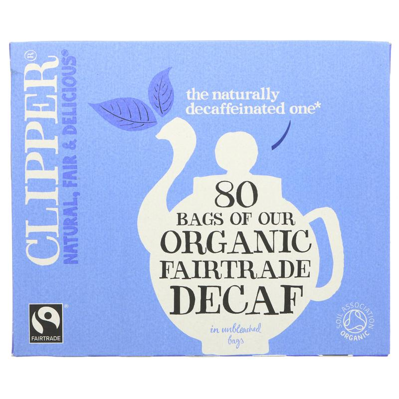 Clipper Decaffeinated Tea - 80 bags