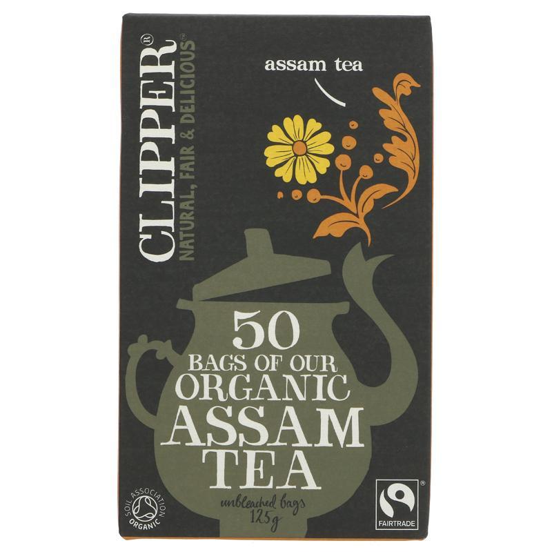 Clipper Assam - organic - 50 bags