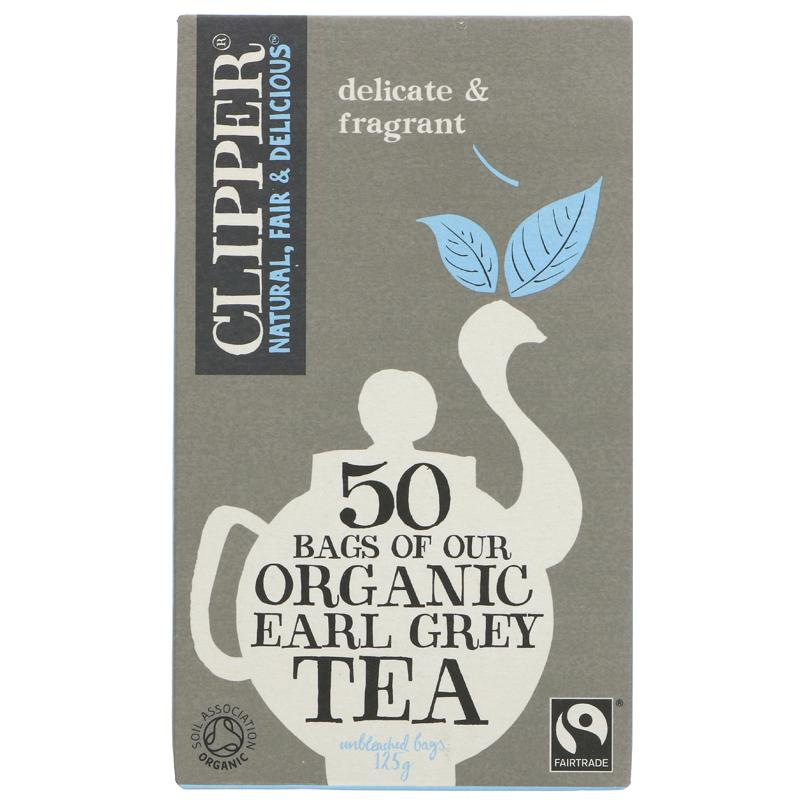 Clipper Earl Grey - organic - 50 bags
