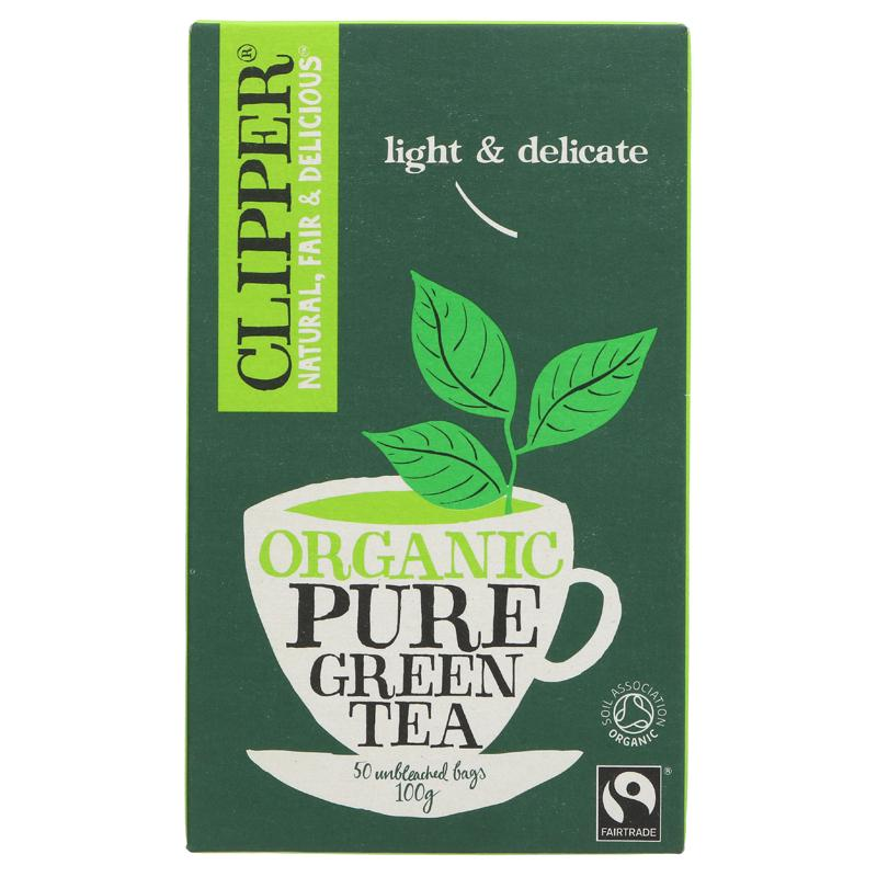 Clipper Pure Green Tea - organic - 50 bags