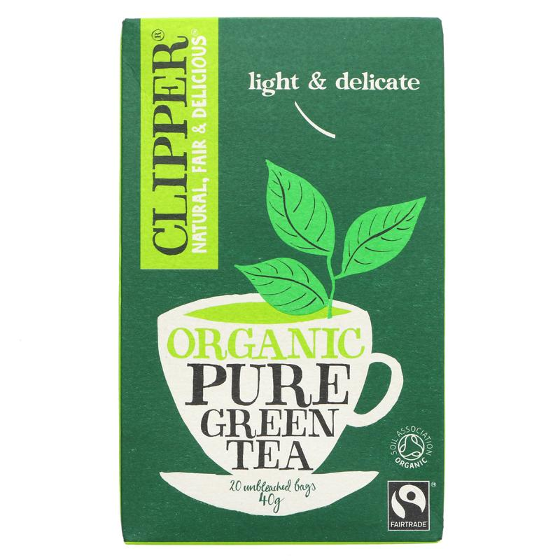 Clipper Org Pure Green Tea 20 bags