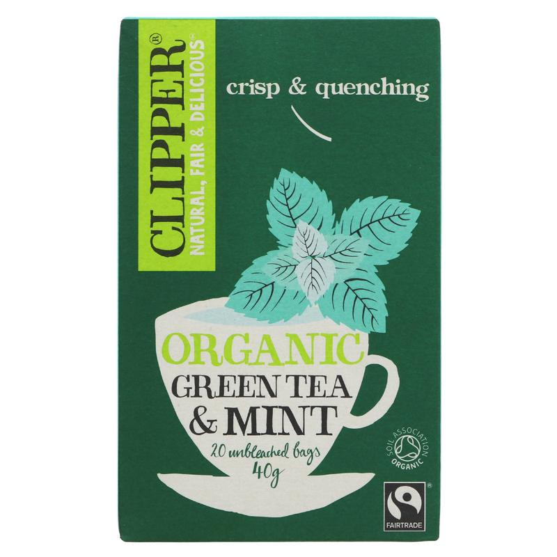 Clipper Green Tea & Peppermint 20 bags
