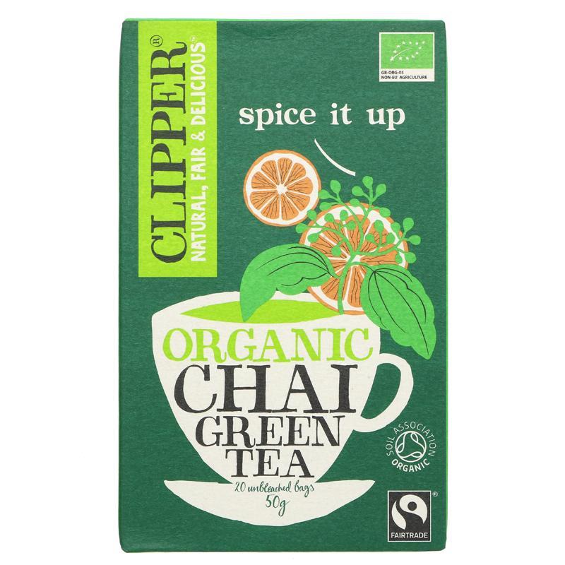 Clipper Te Grønn Chai 20 poser