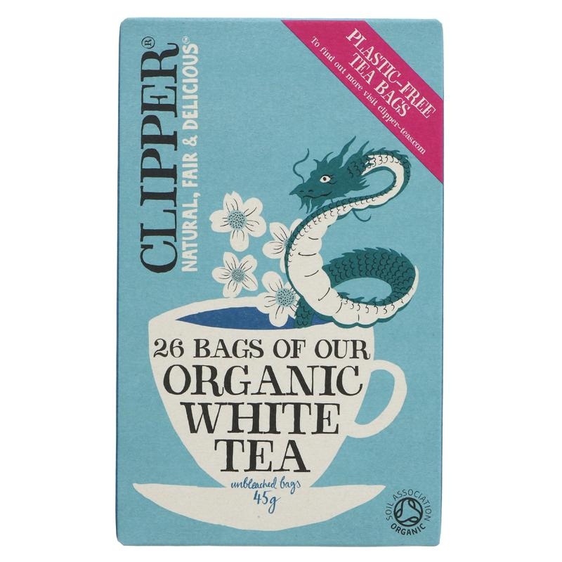 Clipper White Tea Organic  - 26 bags