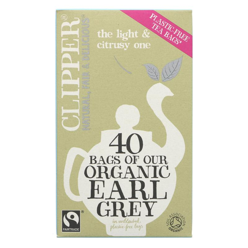 Clipper Earl Grey Tea Organic  - 40 bags