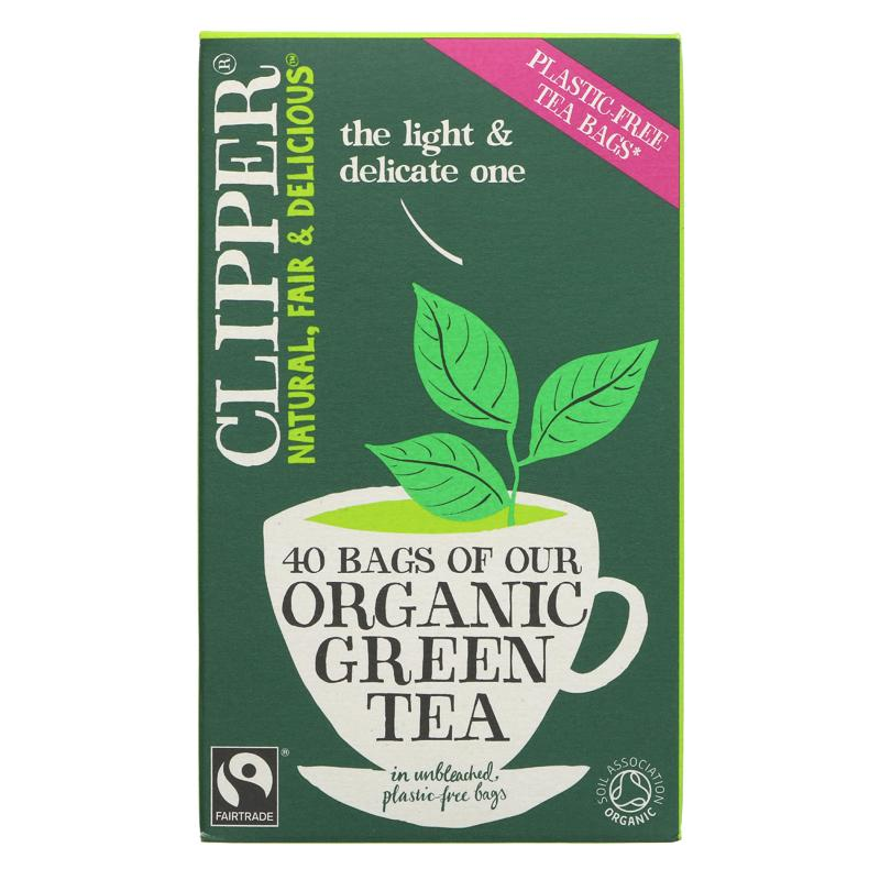 Clipper Green Tea Organic - 40 bags