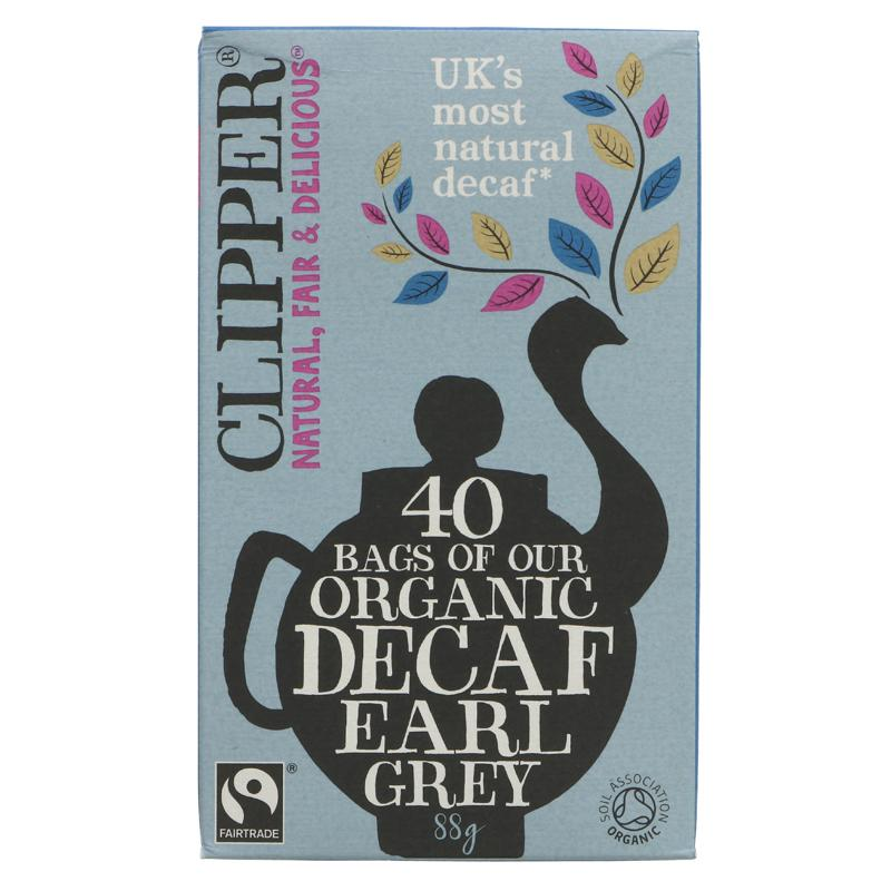 Clipper Decaf Earl Grey Tea Organic  - 40 bags
