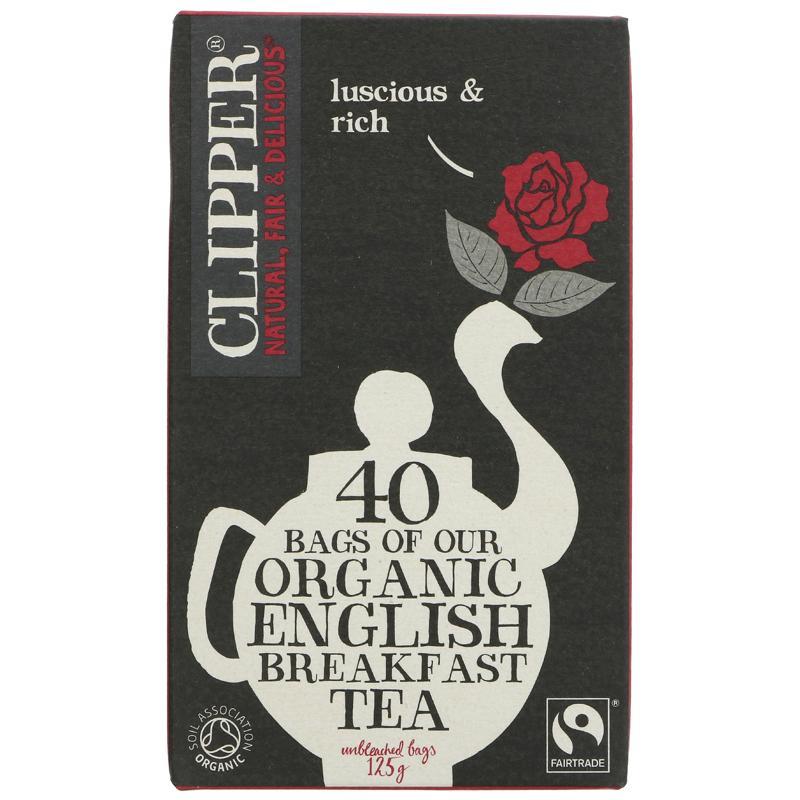 Clipper English Breakfast Organic - 40 bags