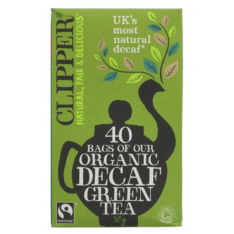 Clipper Decaf Green Tea Organic - 40 bags