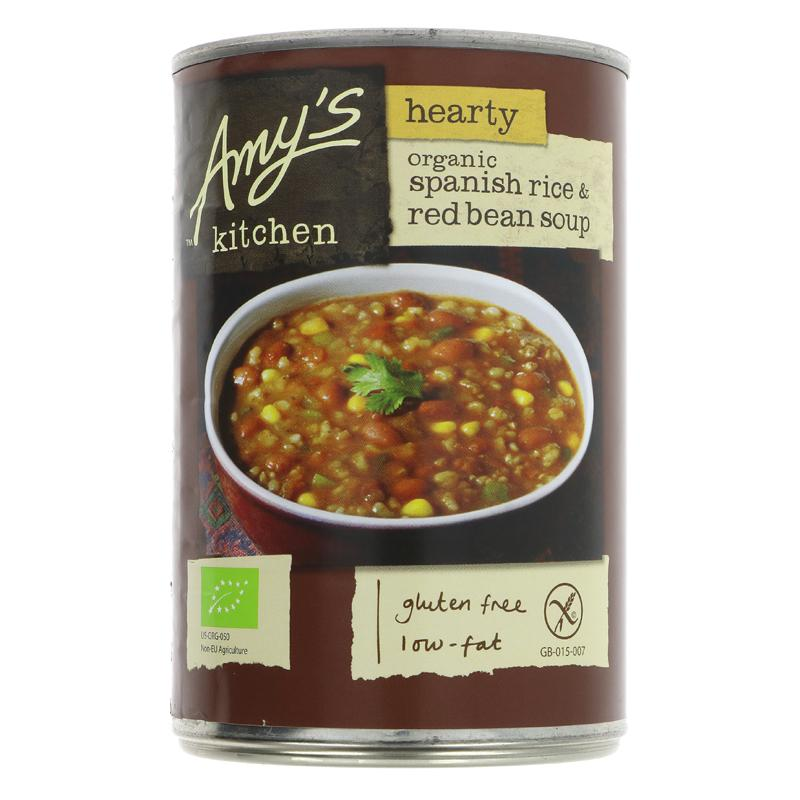 Amys Spanish Rice & Red Beans Soup