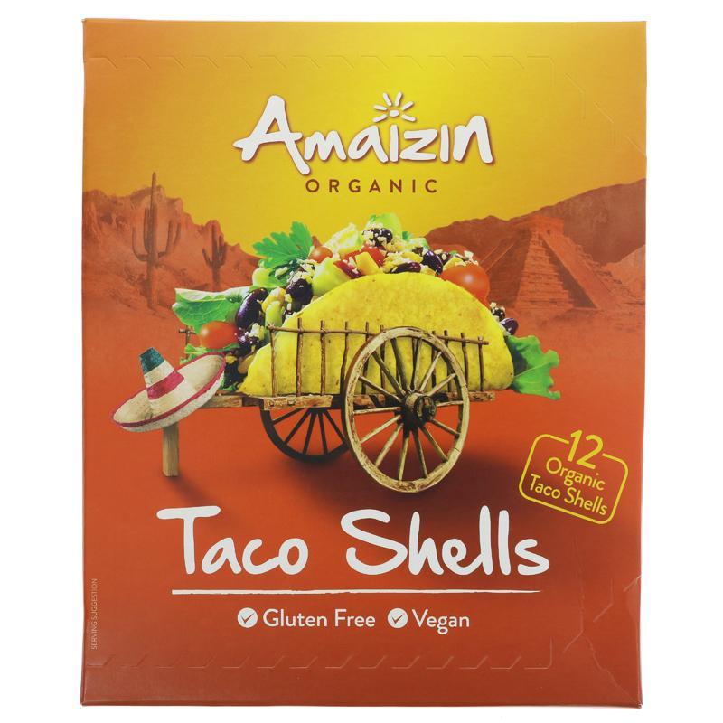 Amaizin Taco shells. 150 g. øko