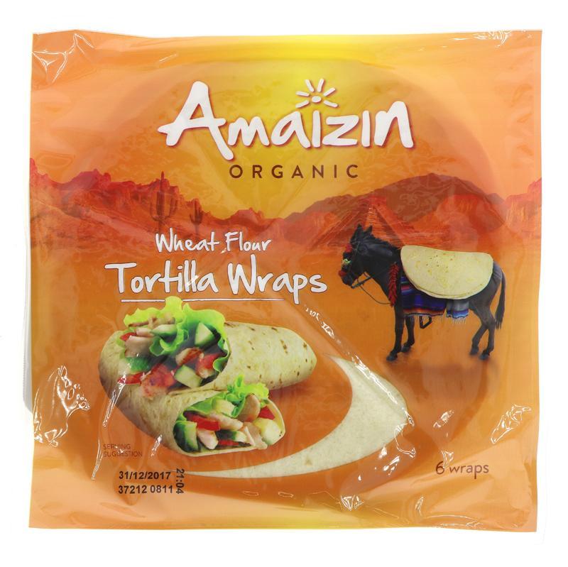 Amaizin tortilla wraps 24g øko