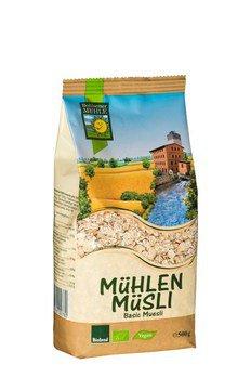 Musli basic, 500 g, økologisk, Bohlsener Muehle