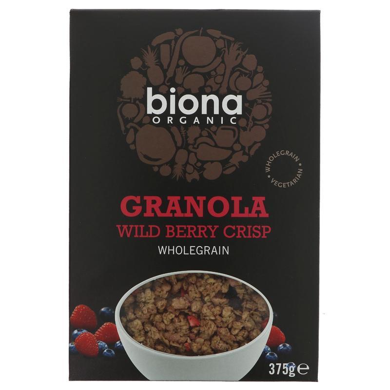 Biona Wild Berry Granola - Organic - 375g