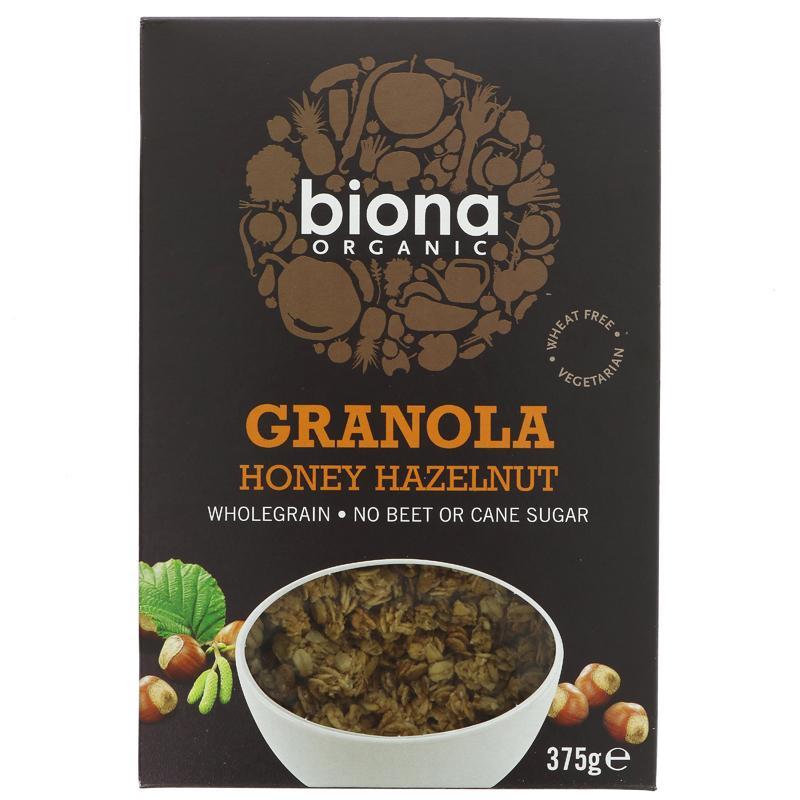 Biona Honey Hazel Granola - Organic - 375g