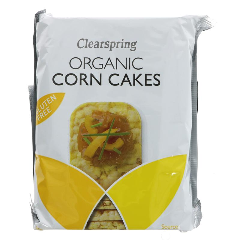 Clearspring organic corn cakes 130 gr