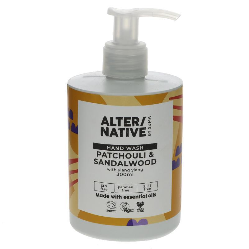 Alter/Native Handwash - Patchouli & Sandalwood 300ml