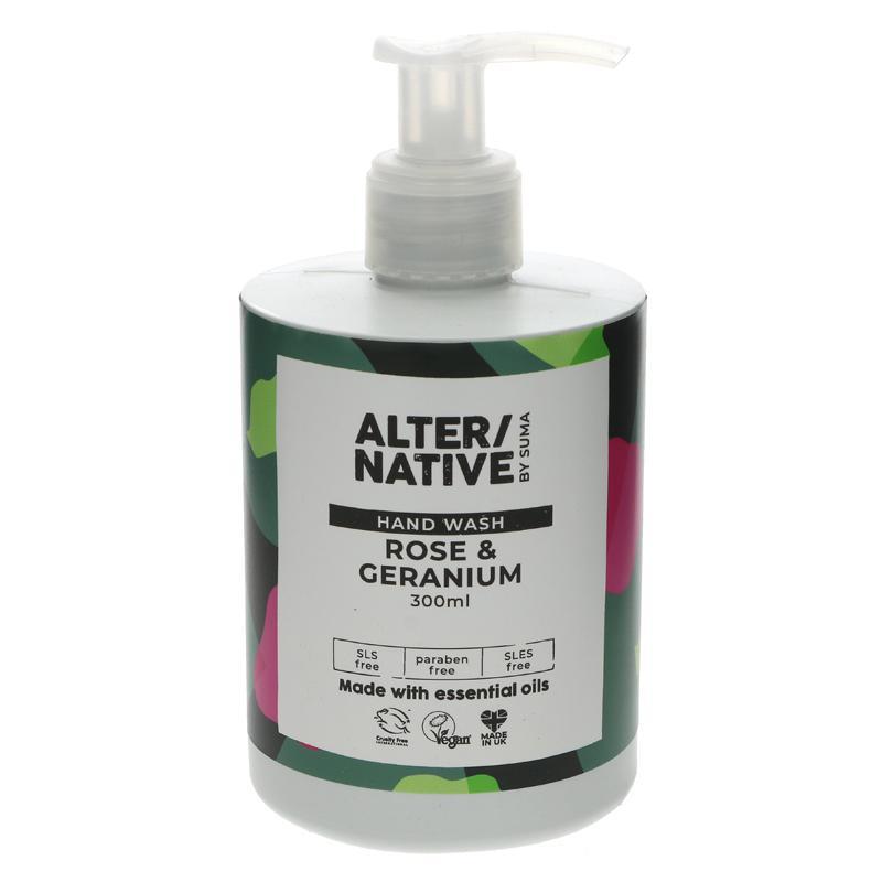 Alter/Native Handwash - Rose & Geranium 300ml