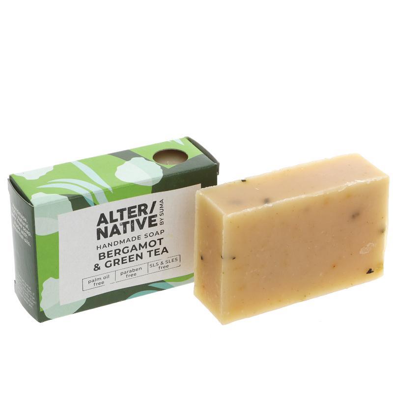 Alter/native By Suma Bergamot & Green Tea Soap Bar - 95g